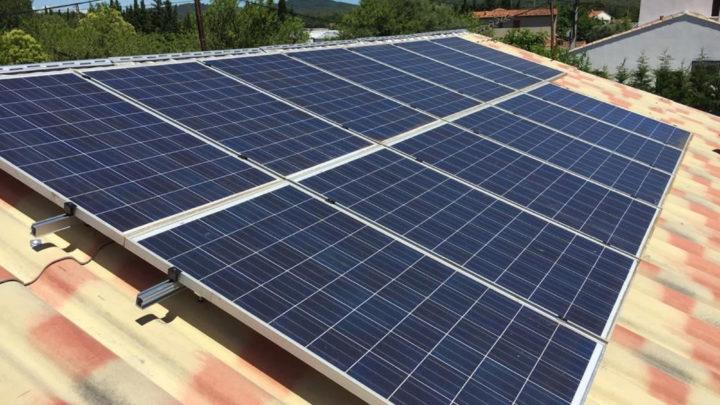 installation de centrale solaire à solliès pont dans le 83