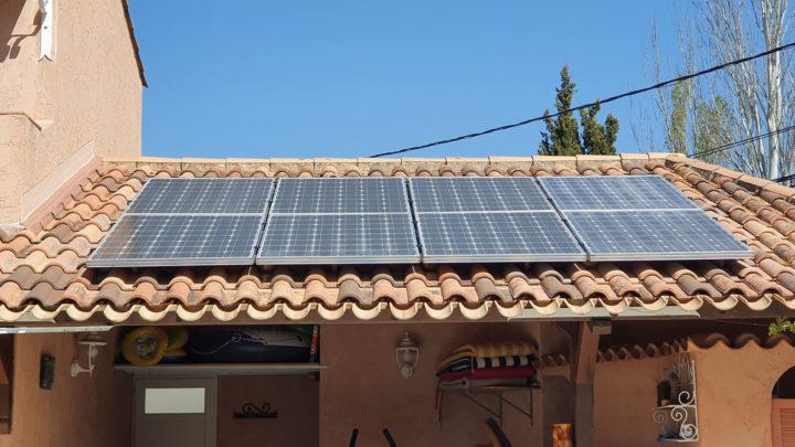 Panneaux photovoltaïque dans le Var