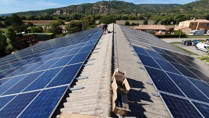 panneaux solaires à la farlede dans le var