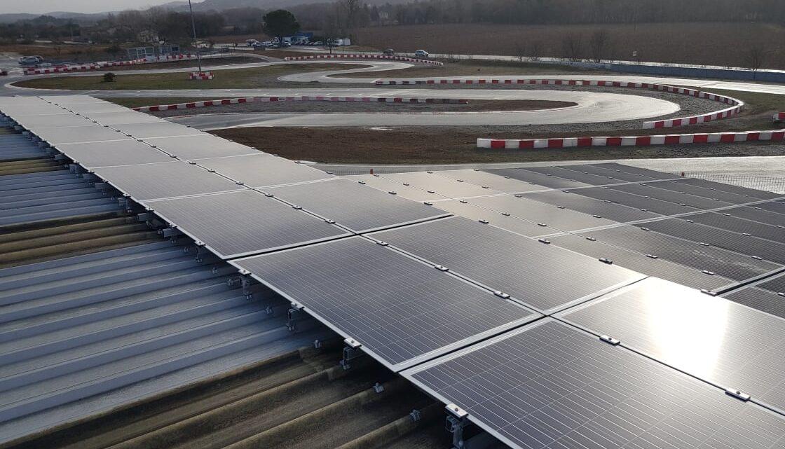 Centrale solaire à Brignoles
