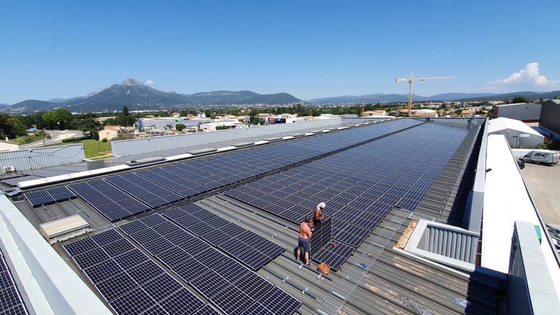 panneaux solaires à Hyeres