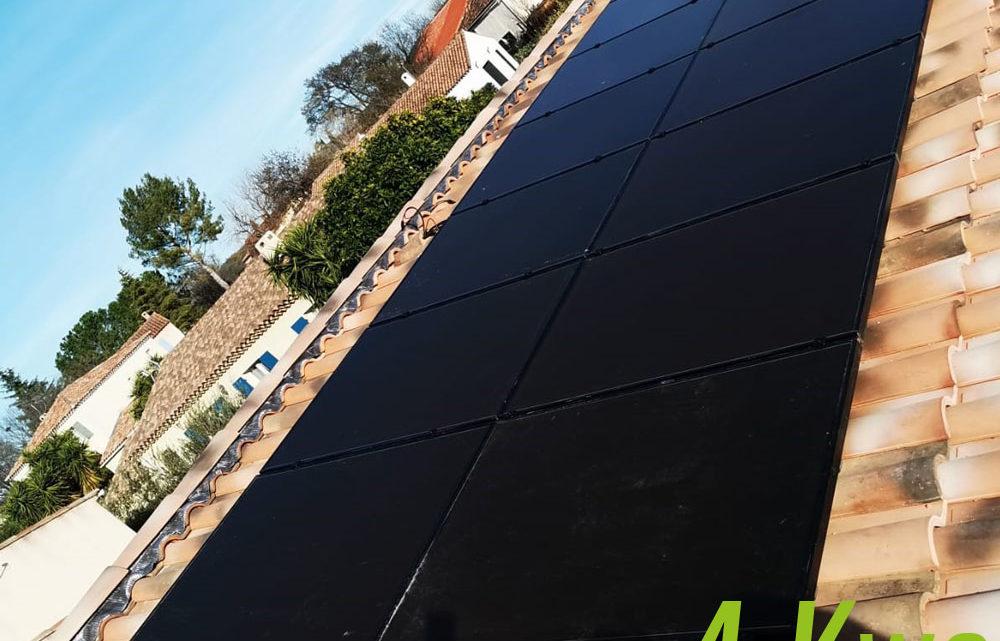panneaux solaires à sollies pont