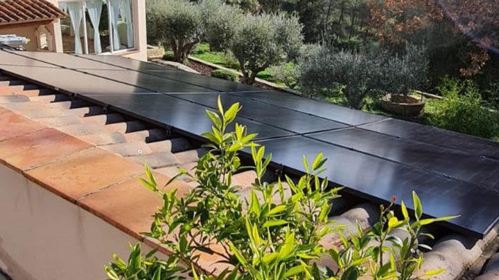 panneaux solaires à St Anastasie sur Issole