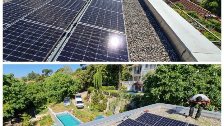 panneaux solaires à TOulon