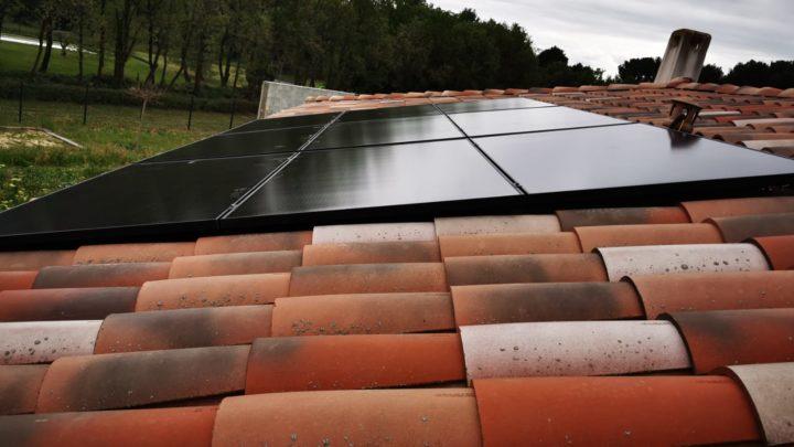 panneaux solaires à st cannat chez un particulier 9kwc