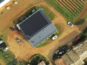 panneaux solaires à valensole